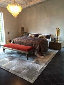 A Vintage Vineyard Master Bedroom