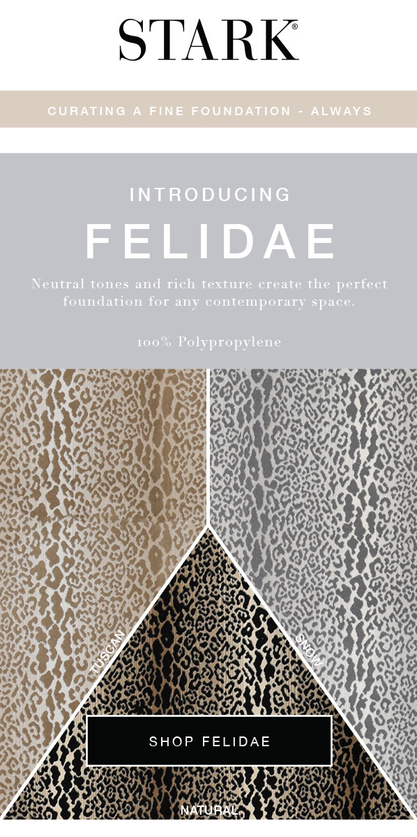 Stark Carpet Introducing Felidae Animal-Print Carpet