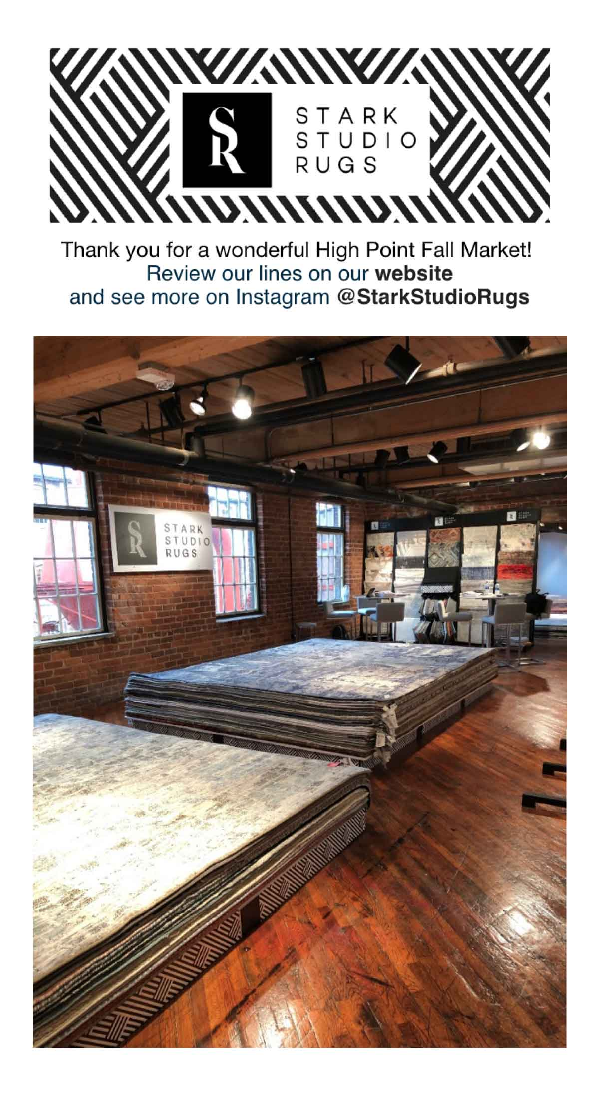 Thank you from Stark Studio Rugs