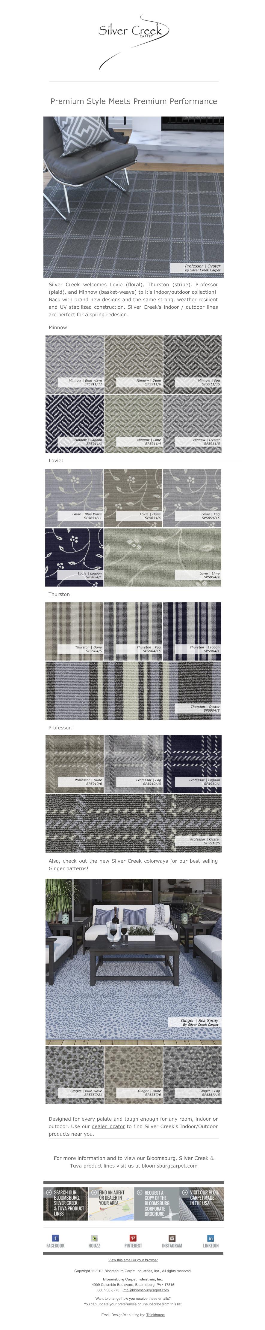 Bloomsburg Carpet | New Post