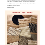 The Natural Carpet Company | 2020 Introductions
