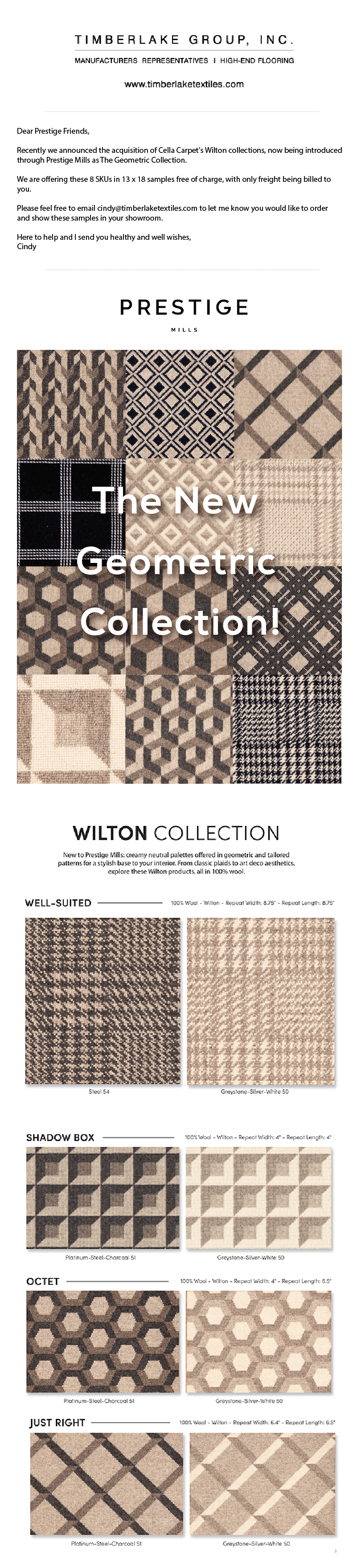 Image of Cella Carpet Wiltons through Prestige Mills
