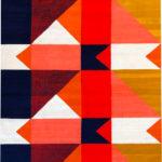 Casa Muniz Design Quilt rug-6' x 9'
