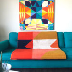 Casa Muniz Design Quilt rug room scene