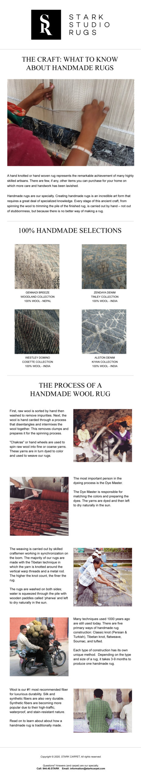 Image of blog post for Stark studio rug The Craft: Learn the Value of a Handmade Rug