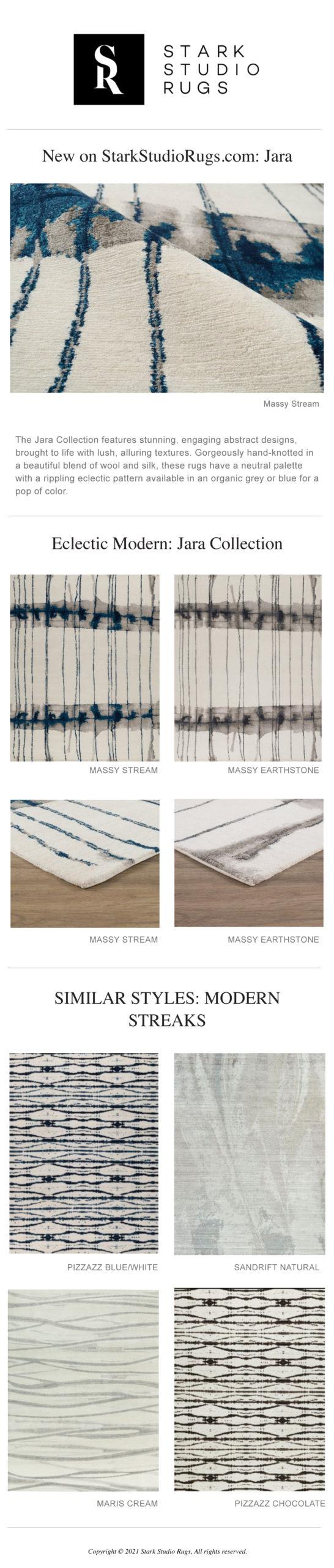 Stark Studio Rugs New Modern Eclectics: Jara Collection