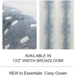 Stark Studio Rugs | Cool Blue Animal Prints: Essentials Collection