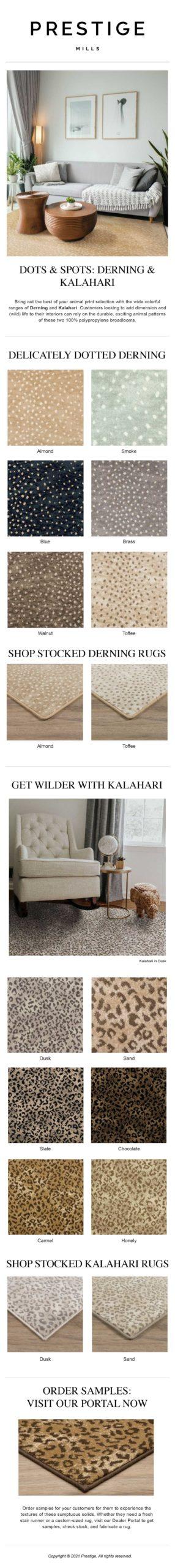 Spots & Dots: Derning & Kalahari Animal Prints