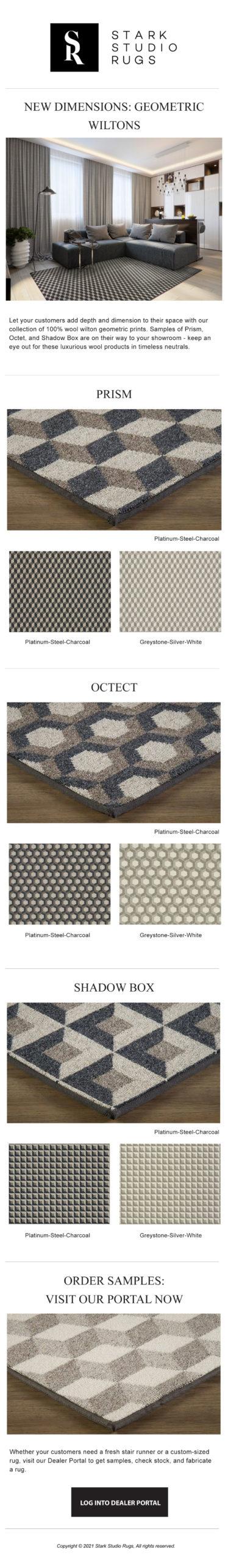Wilton Highlight: New Geometric Wools